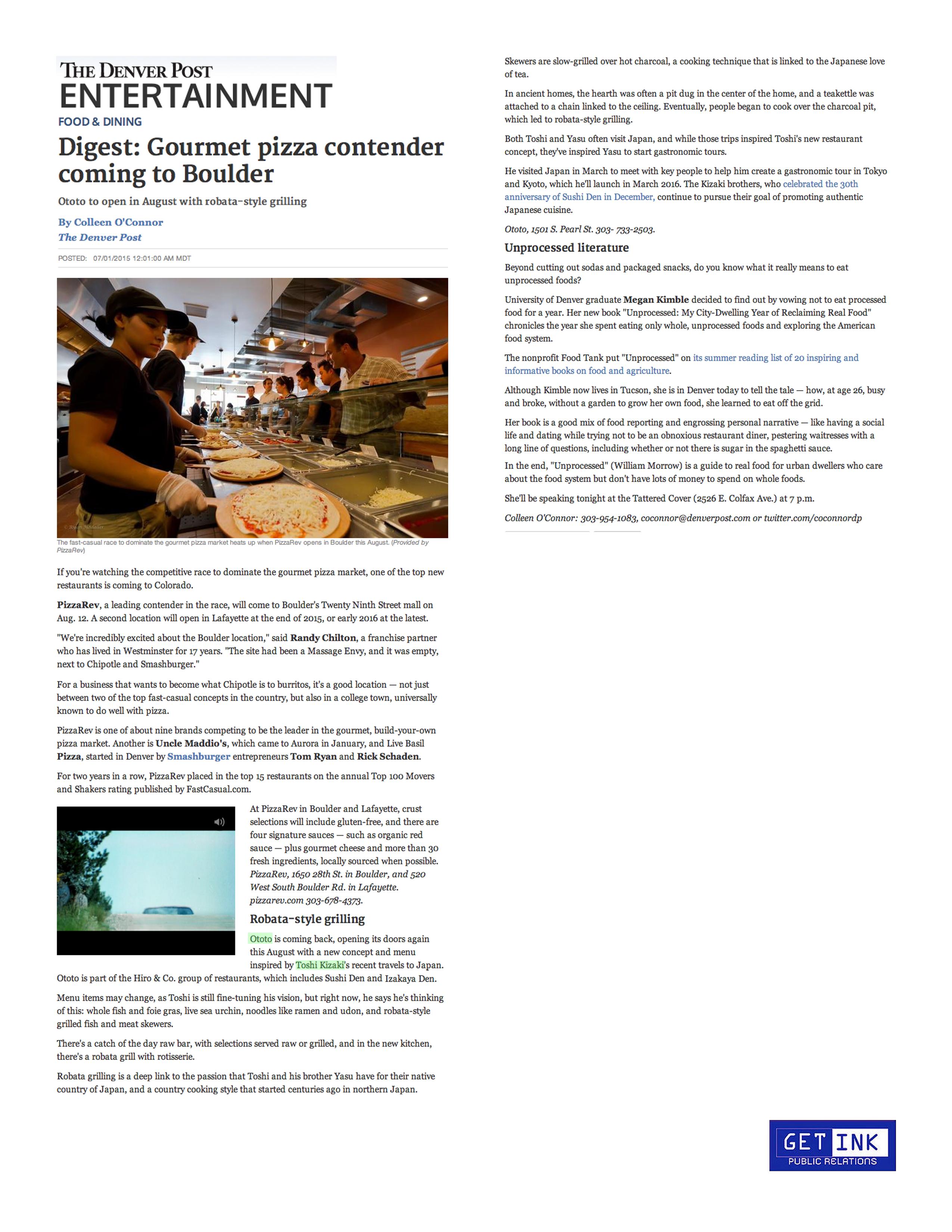 DenverPost.com 7.1.15