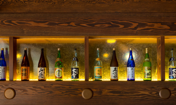 Sake, Wine, Beer, and Cocktails