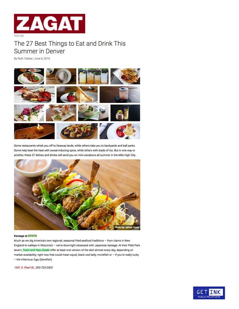 Zagat.com OTOTO